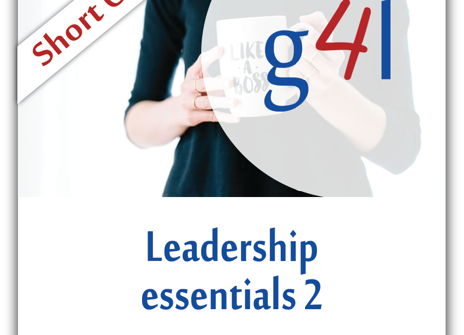 Leadership Essentials 2