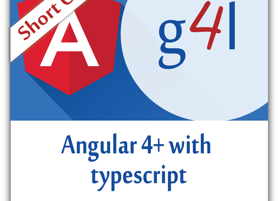 Angular4+ with Typescript
