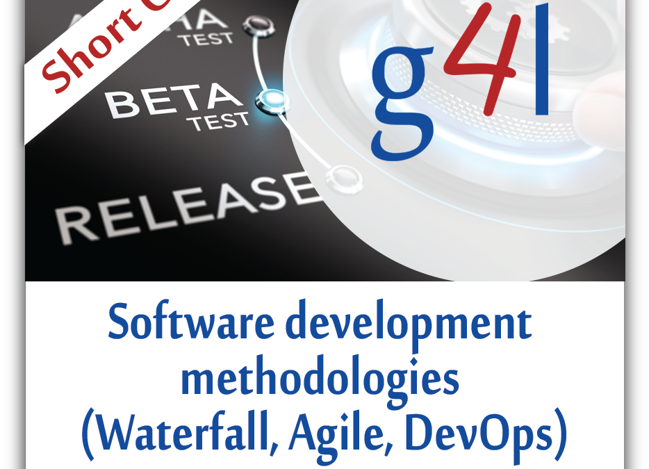 Software Development Methodologies (Waterfall, Agile and DevOps)
