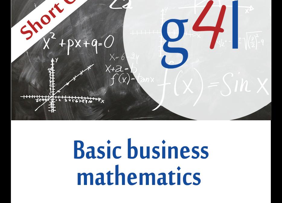 Basic Business Mathematics