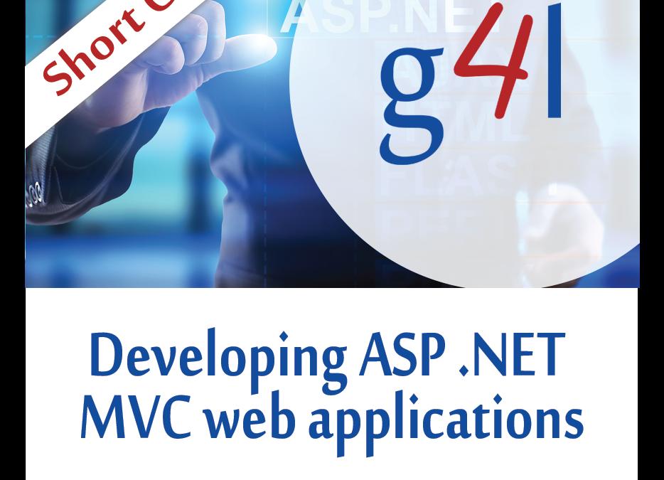 Developing ASP .NET MVC Web App