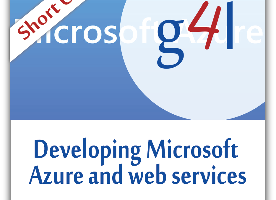 Developing Microsoft Azure and Web Services
