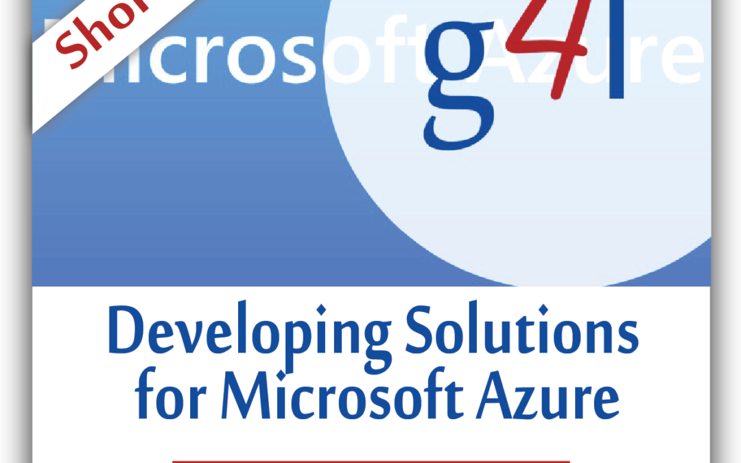 Developing Solutions for Microsoft Azure